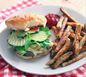 Perfect burger tips by Bowl of Delicious
