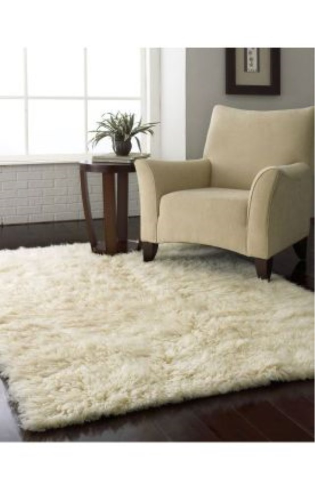 Natural Greek Flokati thick lush pile of 100% wool Standard Shag Rug is only $179 on Swopboard.