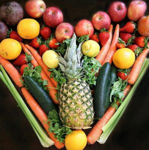 organic produce, heart food, heart healthy, food art, new roots organics, eat seattle