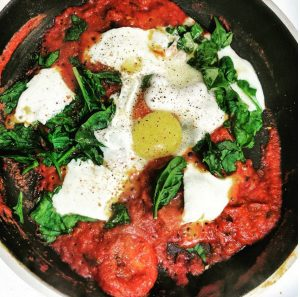 shakshuka tomato organic recipe by New Roots Organics