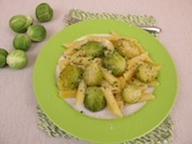 Roasted Fall Vegetable Pesto Pasta