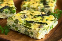 Slow-Cooker Asparagus and Zucchini Frittata