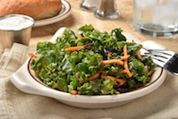 Kale Salad with Sesame Dressing