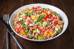 Apricot Quinoa Summer Salad