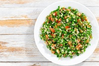 Spring Vegetable and Herb Tabbouleh Salad