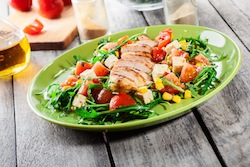 Spicy Sweet Chicken Cobb Salad