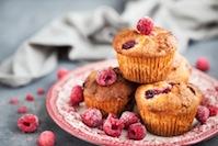 Gluten Free Raspberry-Ginger Muffins