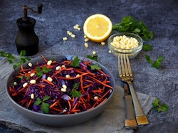 Purple Power Salad for a Potluck Picnic