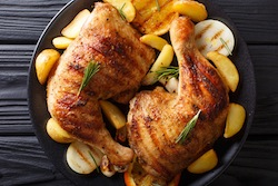 Honey Mustard Chicken with Apples
