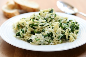Orzo, Green Bean and Fennel Salad with Dill Pesto
