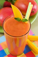 Strawberry Mango Spring Smoothie Recipe