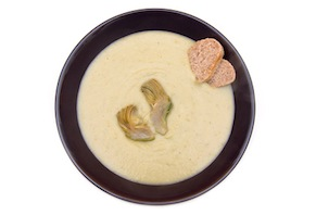 Creamy Artichoke and Sunchoke Soup