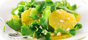 Spring Salad with Orange Fennel Vinaigrette