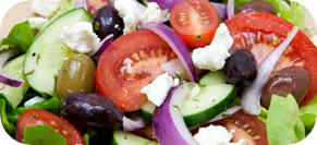 Cucumber, Tomato and Feta Salad