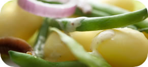 Potato, Green Bean, and Corn Salad