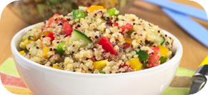 Quinoa Pilaf with Spring Vegetables