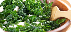 Raw Kale Salad with Lemon, Pecorino and Currants