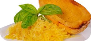 Spaghetti Squash with Pomodoro Sauce