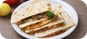 Stacked Vegetable Quesadilla