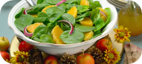Spinach Salad with Orange and Avocado