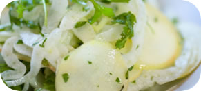 Celery Fennel Salad with Preserved Lemon and Dates