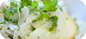 Shaved Fennel and Apple Salad