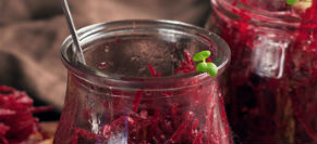 Beet and Cabbage Salad